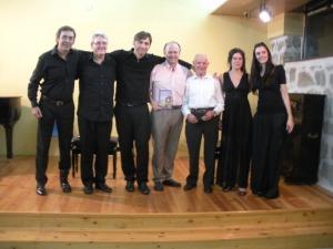 A.Domínguez,D.O´doherty,F.Bartoletti,C.Díaz,Antonio,CarmenMuñoz y Elena Gayo