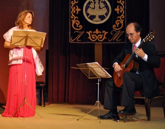 AMALIA BARRIO Y JOAQUIN TAFUR