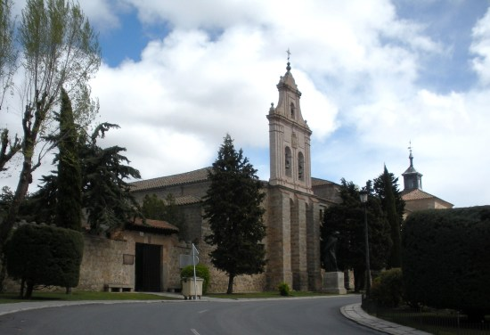 vista lateral del monasterio de la Encarnación