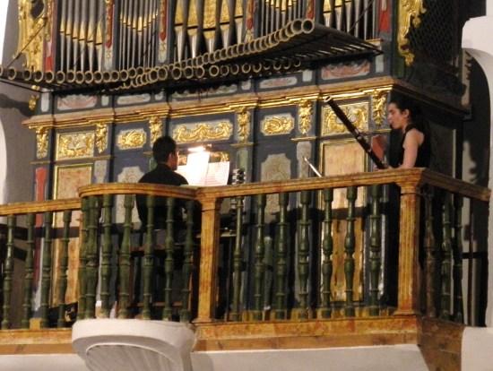 Cristina García Casado y David López Peláez/XVII C.AUREO HERRERO interpretan A.Vivaldi y B.Marcello