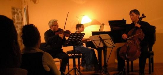 Trío en Re menor-Mendelssohn por el Trío Paderewski