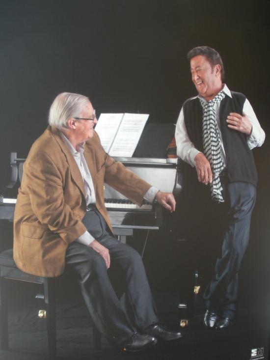 José Peris (compositor) y José Menese (cantaor)