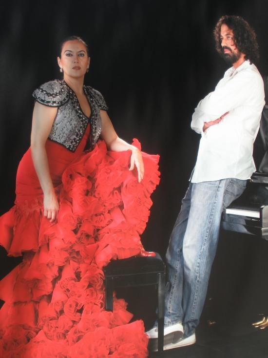 Rafaela Carrasco (bailaora) y Pablo Suárez (pianísta)