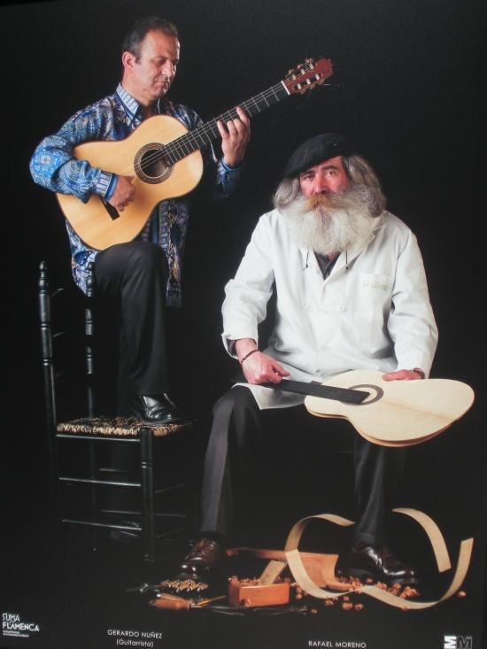 Gerardo Nuñez y Rafael Moreno (guitarrero)