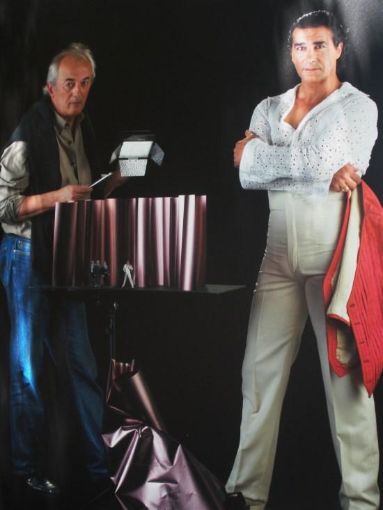 Gerardo Trotti (escenógrafo) y Antonio Márquez (bailarín)