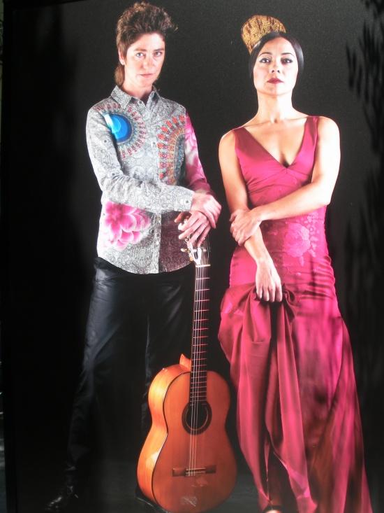 Olga Pericet (bailaora) y Antonia Jiménez (guitarrísta)