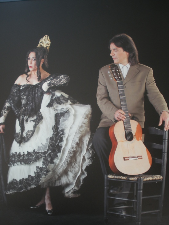 Lola Greco (bailarina) y Agustín Carbonell, Bola (guitarrísta)