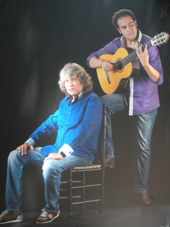 José Mercé (cantaor) y Diego del Morao (guitarrísta)