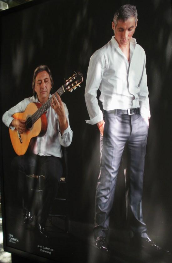 Juan Carmona (guitarrista) y Pitingo (cantaor)