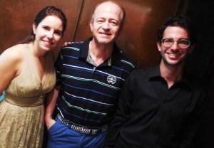 Con Bea Blanco y Federico Bosco